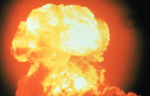 Kerosene Explosion